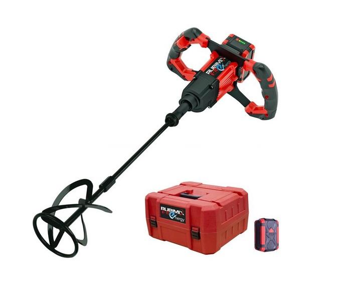 Rubi-Malaxeur-a-batterie-18V-5Ah-Li-Ion-diametre-fouet-120-mm-RUBIMIX-E-10-E